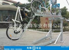 天津自行车双层停车架