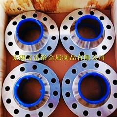 美标锻造F53/2507不锈钢法兰带颈平焊高压对焊法兰
