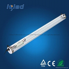 IP68 Led Linear Lighting 50W High Borosilicate Glass Tube and PMMA Housing