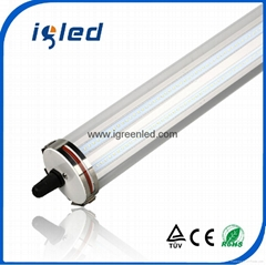 IP68 LED Explosion-Proof Batten Light Fixture 4ft 40W TUV Certified