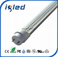 180° Rotated End Cap LED Lighting Tube