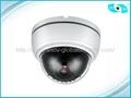 Economic 3.5 inch Plastic IR Dome Camera CCTV Camera