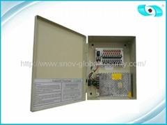 12V DC 5A CCTV Power Suppliers, Surveillance Cameras Power Supply Box 60W