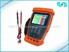 RS485 / RS232 / RS422 CCTV Tester with Digital Multimeter