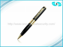 2013 High Quality Gold Spy Pen Camera HD Mini Video Hidden Camera Recorder DVR F