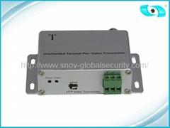 Cat5 Active Video Balun for CCTV , Active Video Balun Transmitter