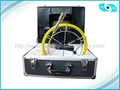 TFT color monitor Pipe Inspection DVR System Underwater Camera Kit
