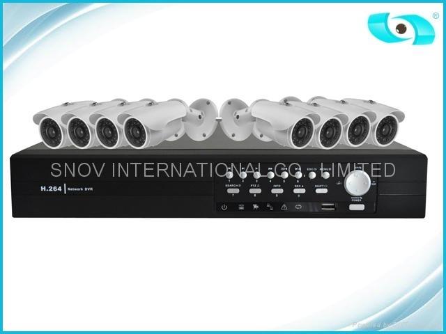 8CH DVR Kit, Waterproof Cameras