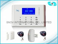 Wireless Alarm System GSM Alarm System Burglar Alarm