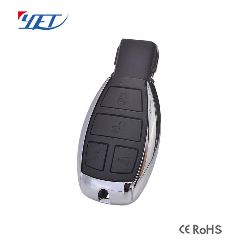 Four-key-pad automobile remote control 1