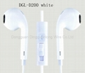 wired earphones with mic for smartphone