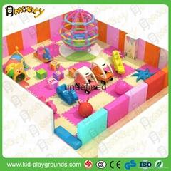 Hot sale soft indoor playground for children