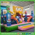 Gaint outdoor inflatable obstacle course