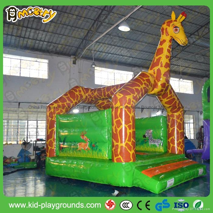 Rental used high quality inflatable kids bouncer castles 1