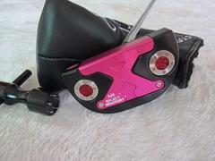Brand SC select newport M1 pink flower ghost head golf putter