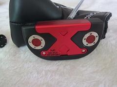 M1 select newport red flower ghost head brand golf putter