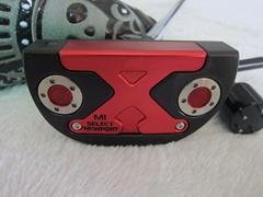 Brand SC select newport M1 red skull golf putter