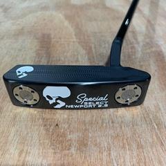 SC special newport 2.5 skull golf putter
