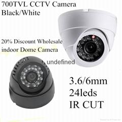 原装正品 红外半球监控摄像机