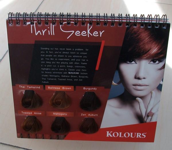 Hair Color Cream Guide Book 4