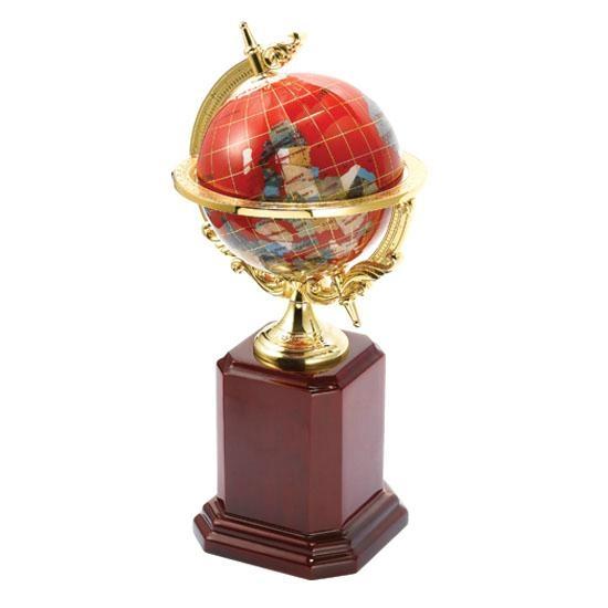 水晶地球仪 4