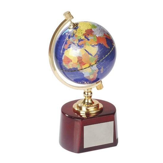 水晶地球仪 5