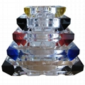 定製水晶煙灰缸紀念禮品 2