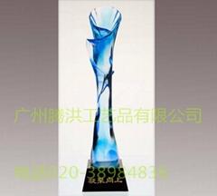 定製精品琉璃獎杯