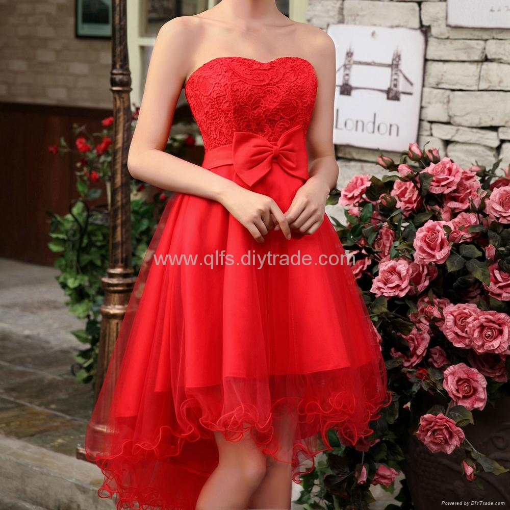 Free Shipping 2013 Autumn Winter Lace Mid-Calf Sleeveless Appliques Ladies' Dres 2