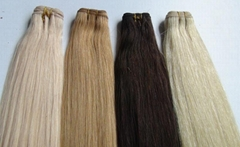 Remy Human Hair Extension Natural Hair Weft