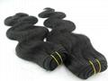 Human hair extension Hair weaving