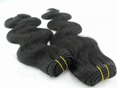 Human hair extension Hair weaving