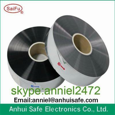 metalized BOPP PET film for capacitor used Aluminium Zinc 3