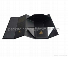 foldable cardboard wine boxes wholsale