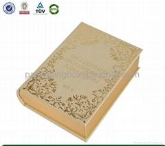 book shape cardboard pap