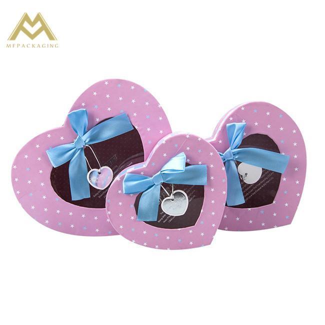 chocolate cardboard gift box China factory 3