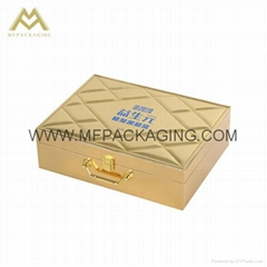 luxury leather case boxes custom manufacturer in china