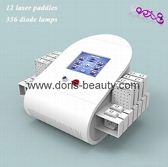 130mw-350mw Smart 336 Diode Lipo laser Body Slimming Machine For Beauty Salon