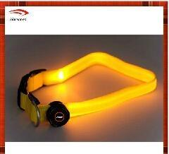 2014 Fashion wholesale bright led dog collar