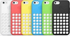 Hollow Designed Colorful Silicone Soft Rubber Protector Skin Shell for iPhone 5C