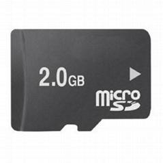 Micro sd card 2GB(MSD-001)