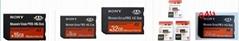 SONY HX PSP MS pro duo MEMORY STICK mark2 M2 TF SD CARD memory card,adapter