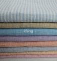 soft feeling washed yarn dyed linen