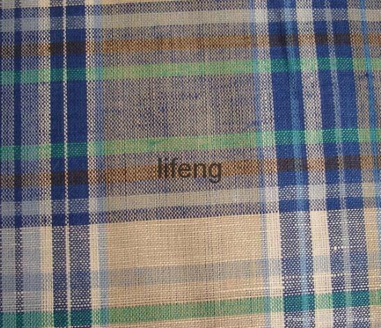 linen cotton blend fabric for shirt 1