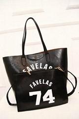 women leather shoulder bag supplier  fashion canvas  shopping bag