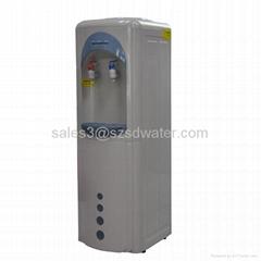 classic smile compressor water dispenser with refrigerator