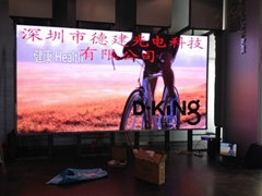 16bit P4 SMD Indoor Advertising Led Display Board
