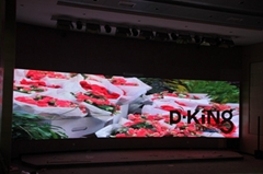 IP65 P4 Inlaid Electronic Led Video Wall Display