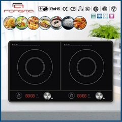 2014  press button 2 burners induction stove RM-D21