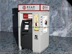中国银行ATM大堂机防护罩